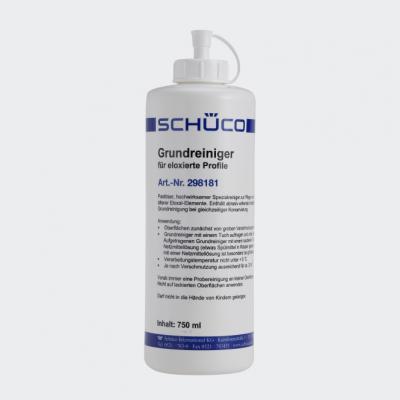 Produit d'entretien en profondeur pour les éléments en aluminium anodisé