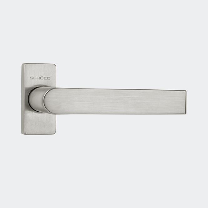 Béquille de porte droite (acier inox)