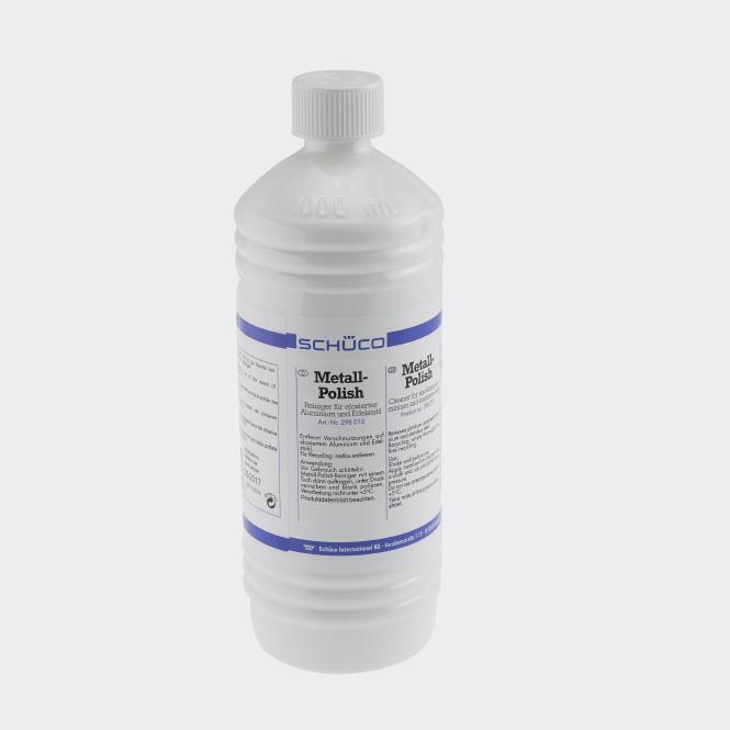 Produit d'entretien pour les éléments en aluminium anodisé